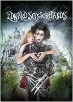 Edward Scissorhands Classic Movie Poster Art Print - A0 A1 A2 A3 A4 Maxi