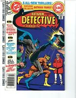 Detective Comics #485 (Aug-Sep 1979, DC) Full Bat Family Appearance!!