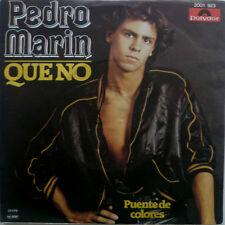 "7"" 1978 RARE Italian press mint -! Pedro Marín: que no"