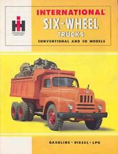 1955 International 6-Wheel Truck Sales Brochure wg7660-SM34CX
