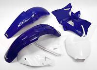 UFO 5 PIECE MOTOCROSS PLASTIC KIT YAMAHA YZ 125 250 00 - 01 STD YAKIT300E