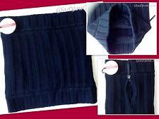NWT Lululemon Keepin' It Real Cozy NeckWarmer Black Soft Sherpa Fleece Wool