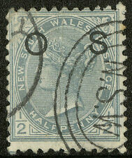 New South Wales  1892  Scott # O38  USED
