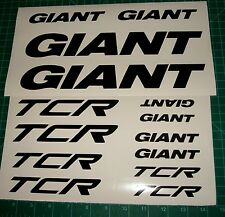 Giant TCR BikeDecals Stickers MTB Bike Racing Dash Avail Escape Trinity Cycle