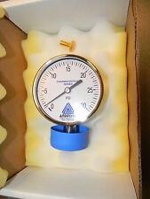 Anderson EM Life Sciences Series Pressure Gauge (90mm), 0-30 PSI EM066010041021A