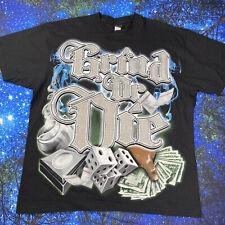 Vintage 90s Dr Dre Grind Rap Tee T Shirt Hip Hop NWA The Chronic sz XL metallic