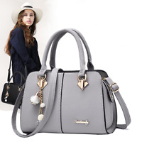 Women Faux Leather Handbags Messenger Shoulder Bag Tote Purse Crossbody Satchel
