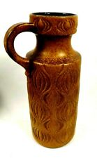 """1970's West Germany Scheurich Pottery Onion Vase 485-45 Vintage Retro 18"""" Tall"""