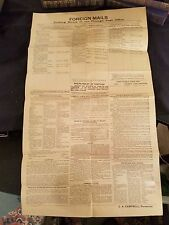 """U. S. Post Office Broadside 1915"" Shipping from Chicago - times, rates, more"