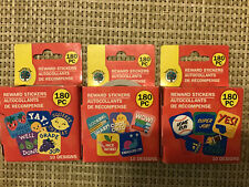 3 X Teaching Tree Reward Motivational Stickers 10 Designs In Roll 540 Pcs F/S
