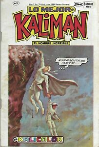 Kalicolor #79 - Abril 18, 1989 -  Mexico