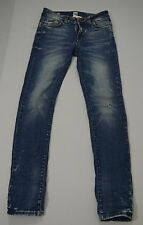 ONLY&SONS Hr.Jeans Stretchjeans MAR SLIM Used Optik Slim Fit blau Gr.30/32 Zipp