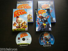LOT 2 JEUX Disney PLAYSTATION 2 PS2 CHICKEN LITTLE + AVENTURES INTERGALACTIQUES