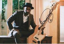 Marcus Miller AUTOGRAFO SIGNED 20x30 cm immagine