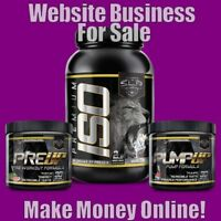SPORTS SUPPLEMENTS Website Earn £26 A SALE|FREE Domain|FREE Hosting|FREE Traffic