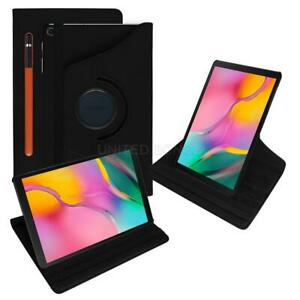 For Samsung Galaxy Tab Tab S5e 10.5 T720 Leather 360 Rotating Case Pencil Holder