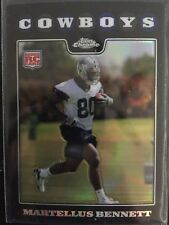 Martellus Bennett 2008 Topps Chrome Rookie Refractor Dallas Cowboys RC Patriots