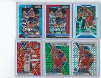"CHARLES BARKLEY 2018-20 Prizm & Mosaic ""LOT OF 6""  /99, /299, Silvers"
