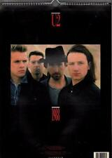 U2  OFFICIAL 1988  vintage calendar,  BONO