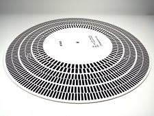 Elvon Stroboscope Disc Acrylic Turntable Mat Alignment Protractor Strobe Disc