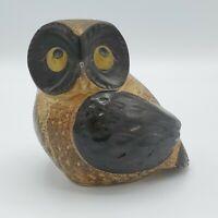 Vintage Mid Century Otagiri Mercantile Co. OMC Japan Stoneware Owl Figure