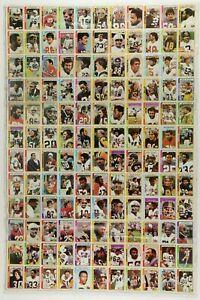 1978 Topps Football 132 Card UNCUT SHEET w/ Dorsett Rookie