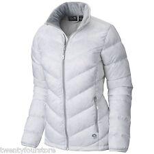 NWT $200 Womens Mountain Hardwear Ratio Down Jacket 650 Fill in White sz M