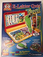 E-Lektor Quiz Lernspiel Travel Clementoni, 4-6 Jahre, Kinderspielzeug