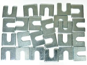 """Ford Truck Body & Fender Alignment Shims- 1/8"""" Thick- 3/8"""" Slot- 24 shims- #399T"""