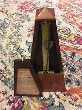 VTG Seth Thomas Metronome De Maelzel 309 Wood Obelisk Works Mechanical Art MUSIC