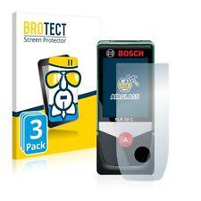 3x Bosch PLR 50 C AirGlass Glass Screen Protector Ultra Thin Protection Film