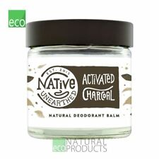 Native Unearthed Natural Deodrant Balm Activated Charcoal 60ml