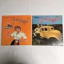 American Graffiti & More American Graffiti Vinyl Lot of 2 Vintage Records