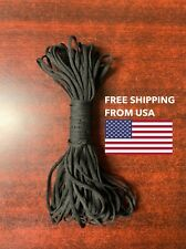 """3mm(1/8"""") Black Elastic Band Cord Ear Sewing Crafts DIY Material 50ft+"""