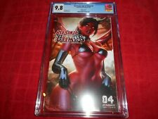 RED SONJA: AGE OF CHAOS #4 CGC 9.8 ( DERRICK CHEW VARIANT)