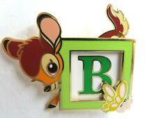 Disney Pin Dssh Bambi Baby Block Le 400