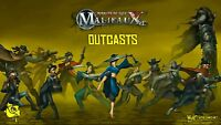 WYRD MINIATURES - MALIFAUX - OUTCASTS - VARIOUS CHARACTERS