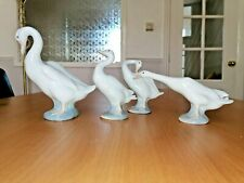 More details for lladro nao swan with three chicks