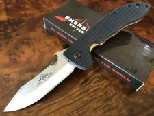 Emerson Knife MINI CQC-8 Horseman SF Stonewash Plain Edge - Prestige Dealer