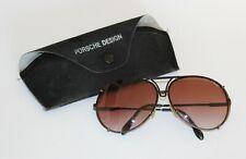 Vintage Carrera Porsche Design Sonnenbrille schwarz mit Etui