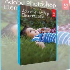 Adobe Photoshop Elements 2018 VOLLVERSION DEUTSCH DVD inkl. Zweitnutzungsrecht