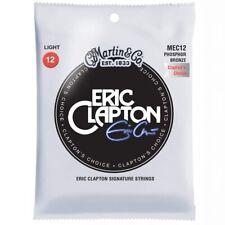 3 X Martin MEC12 Eric Clapton Choice Phosphor Bronze 12 - 54 Guitar Strings