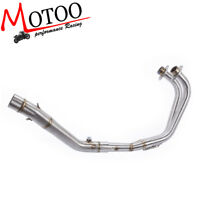 Motorcycle Exhaust System Connecting Pipe for Yamaha YZF R3 R25 2014-2018 MT03