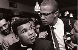 Malcolm X Muhammad Ali poster print