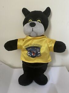 Nottingham Panthers Paws Mascot Toy In ice hockey jersey shirt top