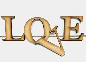 EXTRA LARGE Wooden Letters 20cm-40cm 4mm Thick MDF Wall Hanging Craft Home Signs