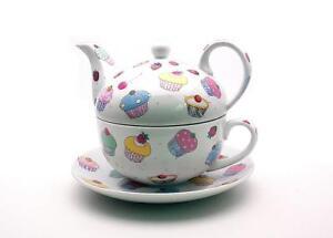 CUPCAKE TEA 4 ONE  FINE CHINA