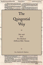 The Quintigential Way - John 14:6 from 500 Different Bible Versions - Paperback