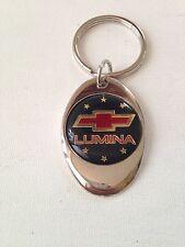 Chevrolet Lumina Keychain Chrome Metal Chevy Key Chain