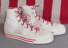 Vintage 1960s Tournament Canvas Basketball Sneakers Gym Shoes NOS Youth Sz.12